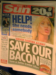 SAVE OUR BACON!