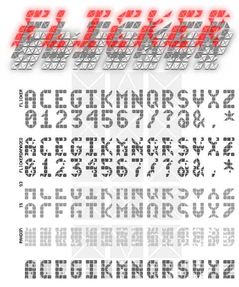 Fonts by acb